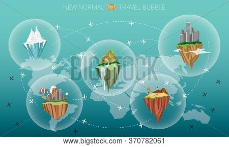 New Normal Travel Bubble, Solution For Tourist Industry To Travel Safely Between Disinfected Country