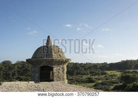 Fortress Of Santa Teresa, Rocha / Uruguay: Dec 31, 2018: Detail Of The Uruguayan National Historic M