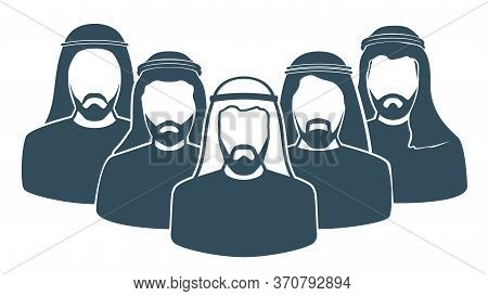 Arab Men's Team Icon , Saudi Man,emirati Man, Omani Man, Kuwaiti Man, Qatari, Bahraini