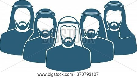 Arab Men's Team Icon , Saudi Man,emirati Man, Omani Man, Kuwaiti Man, Qatari Man, Bahraini Man