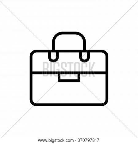 Briefcase Concept Line Icon. Simple Element Illustration. Briefcase Concept Outline Symbol Design Fr