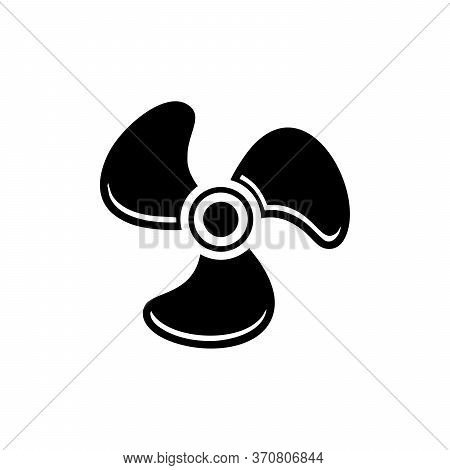 Fan Icon Isolated On White Background From Computer Collection. Fan Icon Trendy And Modern Fan Symbo