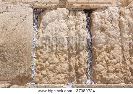 The Wailing Wall, Western wall , Jerusalem, Israel