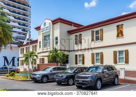 Charlotte Amalie, St.thomas, Usvi - April 30, 2019: The West Indian Company Limited Office In St Tho