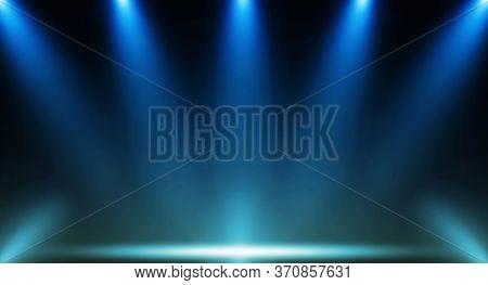 Spotlight. Scene Illumination. Light Effect.