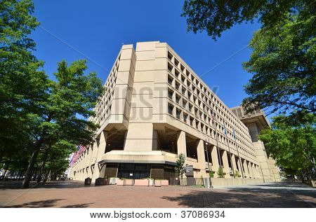 Washington DC - J. Edgar Hoover FBI Building on Pennsylvania Avenue