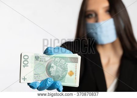 During The Period Of Risk Of Infection With An Infectious Disease, It Is Necessary To Use A Face Mas