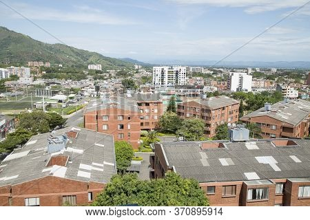 Ibague, Tolima / Colombia - November 6, 2016. Panoramica Of The City. Colombian Municipality Located