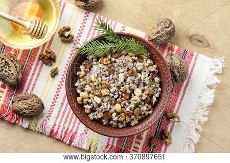 Kutia Or Kutya Is A Ceremonial Grain Dish With Sweet Gravy Traditionally Served By Eastern Orthodox