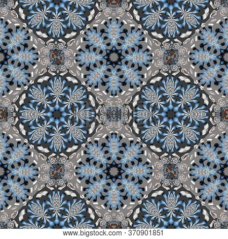 Two-tone Fabulous Seamless Pattern. You Can Use It For Invitations, Notebook Covers, Phone Case, Pos