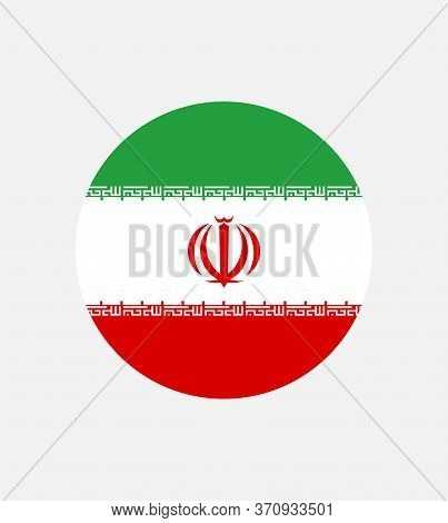 National Iran Flag, Official Colors And Proportion Correctly. National Iran Flag. Vector Illustratio