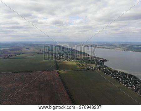 Beautiful Scenery Of The Gulf Of Khadzhibei Estuary, Odessa Region, Ukraine
