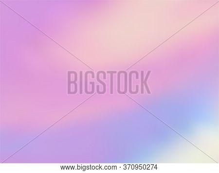 Blurred Hologram Texture Gradient Wallpaper. Electro Iridescent Mermaid Background. Liquid Colors Ne