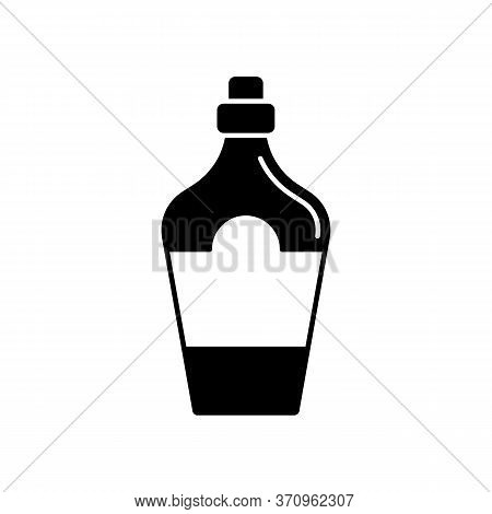 Bottle, Glass, Liquor Icon. Simple Vector Liquid Container Icons For Ui And Ux, Website Or Mobile Ap