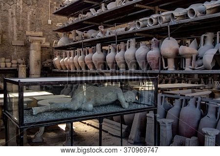 Sample Of The Archaeological Remains Found During These Years In The Ruins Of Pompeii