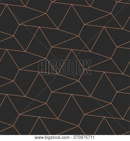 Continuous White Graphic Hex Design Texture. Seamless Elegant Vector, Diagonal Decoration Pattern. G