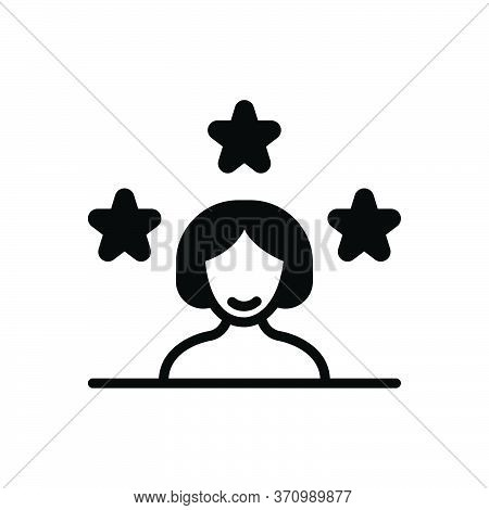 Black Solid Icon For Customer Client Subscriber Clientele Underwriter Purchaser Kharidaar Vendee