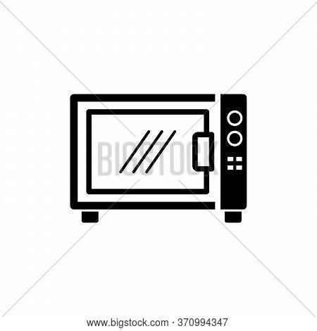 Microwave Radiation Icon. Simple Illustration Of Microwave Radiation Vector Icon For Web Design Isol