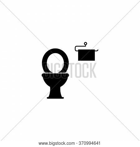 Simple Toilet Seat Design With A Combination Of Tissue With A White Background, Toilet Seat Design F