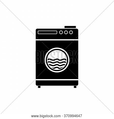 Washing Machine Icon Isolated On White Background From Hygiene Collection. Washing Machine Icon Tren