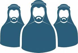Arab Men's Team Icon , Saudi Man,emirati Man, Omani Man, Kuwaiti Man, Qatari Man, Bahraini Man