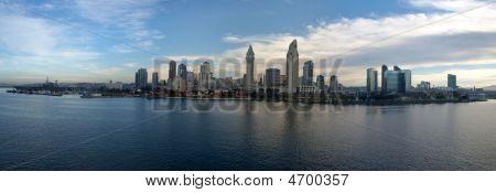 Panoramic Of San Diego