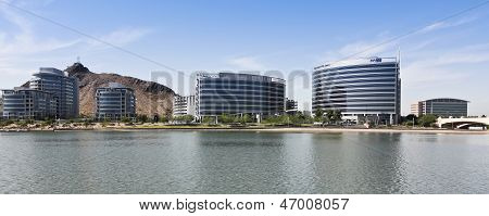A Hayden Ferry Lakeside Panorama View, Tempe