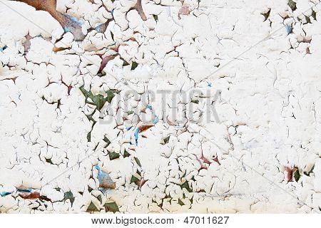 Cracked Beige Paint