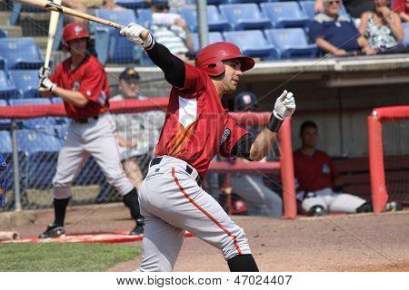 Altoona Curve batter Andrew Lambo