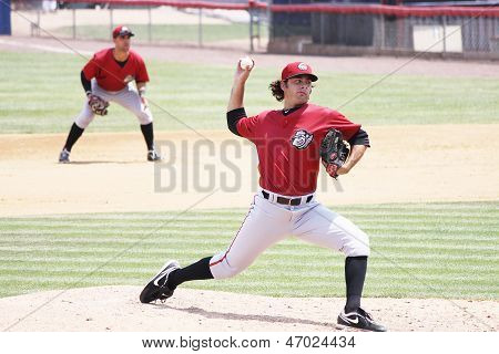 Altoona Curve pitcher Robert Miller