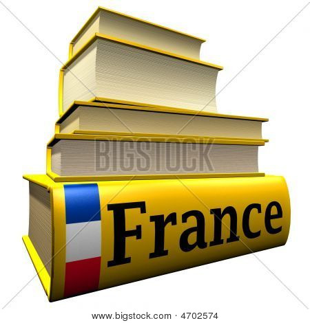 Guidebooks And Dictionaries Of France