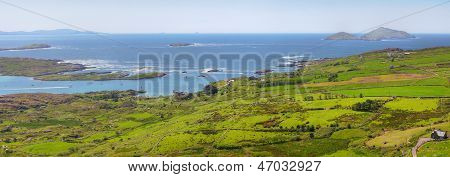 Ring Of Kerry Panoramic View