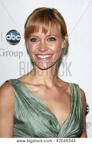 BEVERLY HILLS - JUL 12: KaDee Strickland at the Disney ABC Television Group Summer All Star party on July 12, 2008 in Beverly Hills, California.