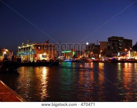Harbor By Night