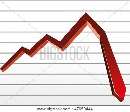 stock down