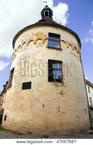 Ancient medieval castle Jaunpils