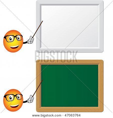 Teacher Blackboard