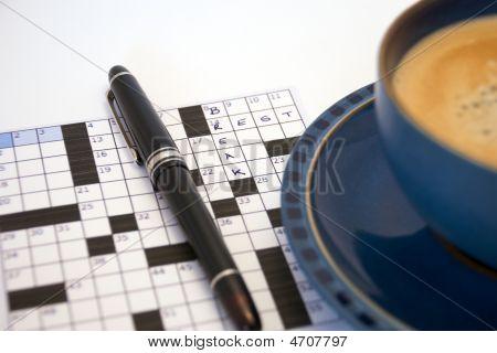 Crossword Coffee Break