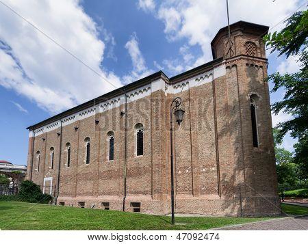 Scrovegni Chapel In Padova, Italy