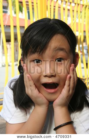 Shocked And Surprised Girl