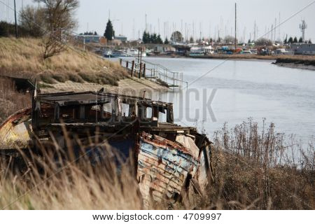 Rotting Old Boat