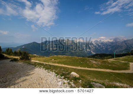 Mountanins Velika Planina, Slovenia
