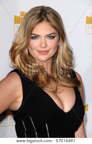 LOS ANGELES - JAN 14:  Kate Upton at the 50th Anniversary Of Sports Illustrated Swimsuit Issue at Dolby Theater on January 14, 2014 in Los Angeles, CA