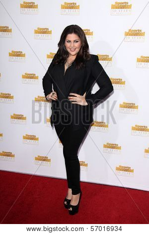 LOS ANGELES - JAN 14:  Hillary Scott at the 50th Anniversary Of Sports Illustrated Swimsuit Issue at Dolby Theater on January 14, 2014 in Los Angeles, CA