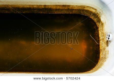 Old Dirty Bathtub
