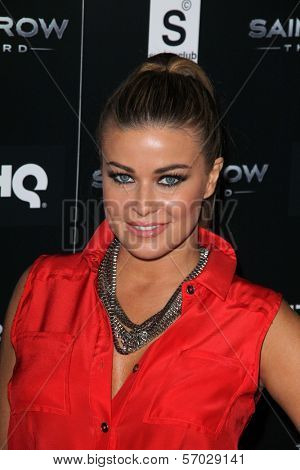 Carmen Electra at the Saints Row: The Third Game Pre-Launch Event, Supperclub, Hollywood, CA. 10-12-11