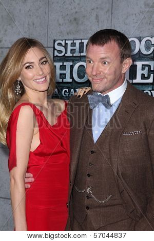 Jacqui Ainsley and Guy Ritchie at the