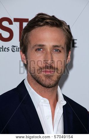 Ryan Gosling at the Los Angeles Premiere of