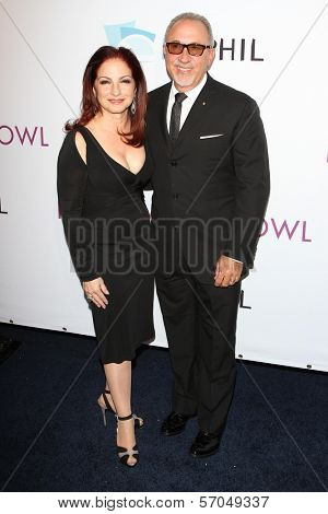 Gloria Estefan, Emilio Estefan Jr. at the Hollywood Bowl 90th Season Hall of Fame Ceremony, Hollywood Bowl, Hollywood, CA. 06-17-11