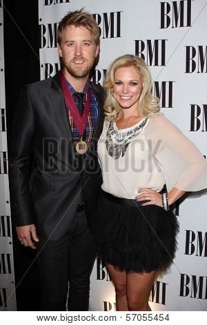 Charles Kelley and Wife at the BMI Pop Music Awards, Beverly Wilshire Four Seasons Hotel, Beverly Hills, CA. 05-17-11